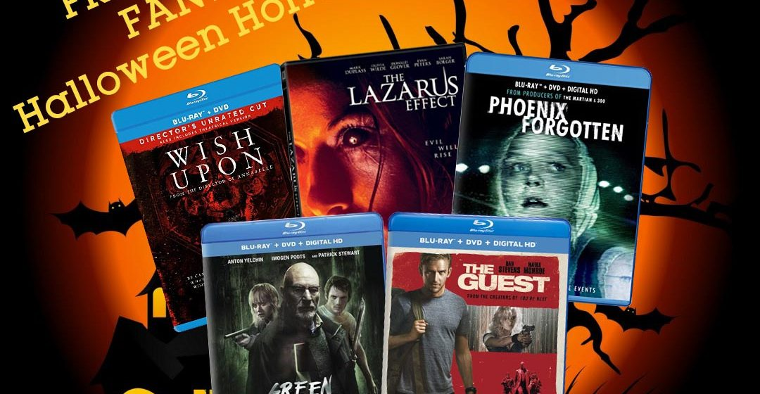 contest d films halloween prize pack fear forever